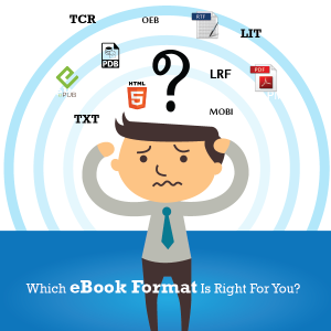 Confused which ebook format to choose