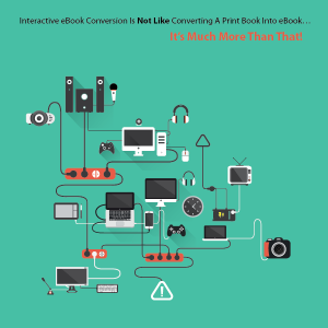 Interactive eBook Conversion
