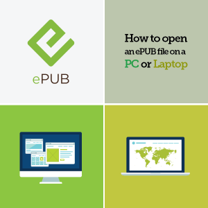 How to open an ePUB file on a PC or laptop