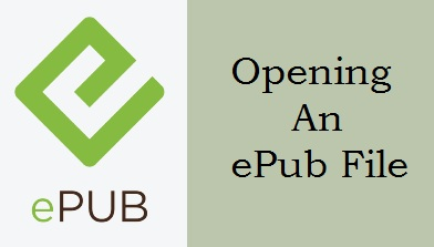 Opening An Epub File