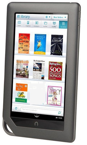 Nook Color LCD Device: