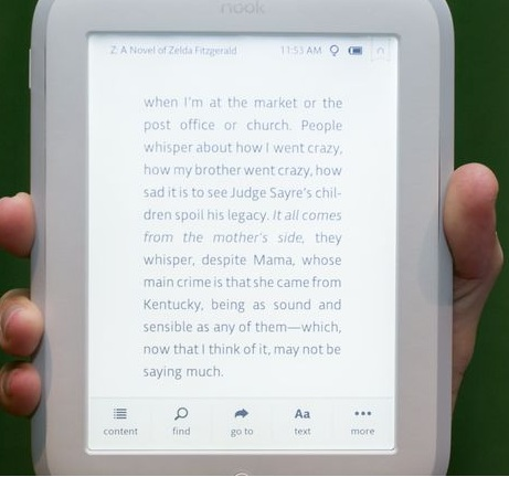 Nook GlowLight (E Ink):