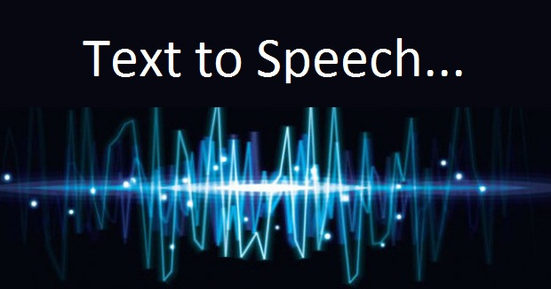 How to add text-to-speech for eBooks