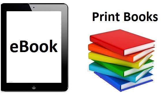 What are the differences between eBooks and Print books?