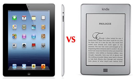 eBook Readers vs Tablets: E-reader or Tablet
