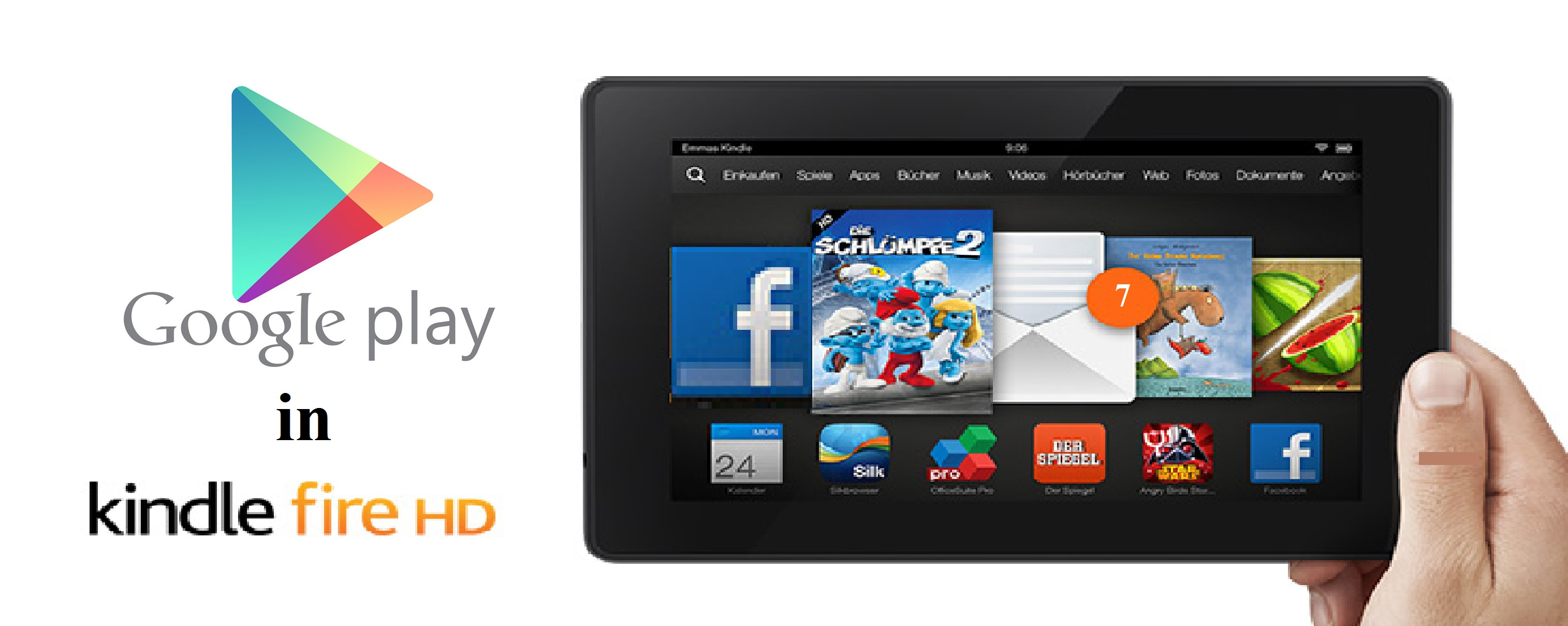 Installing Google Play On Kindle Fire And Remove