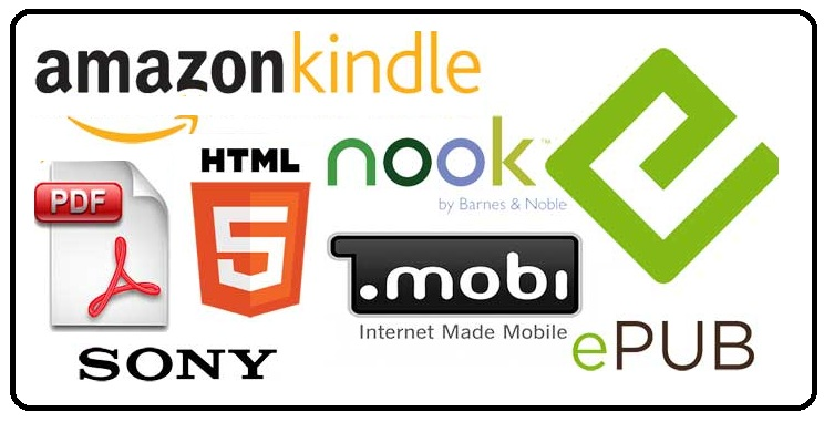 Types of E-Book Formats