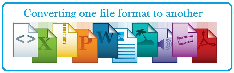 Converting one file format to another