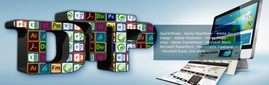 Software in desktop publishing