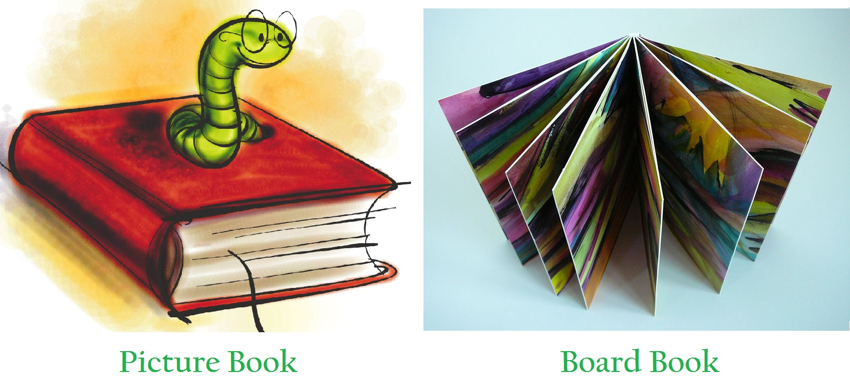 Difference Between Board Books And Picture Books
