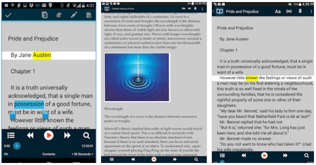 Voice Dream Reader App On Android