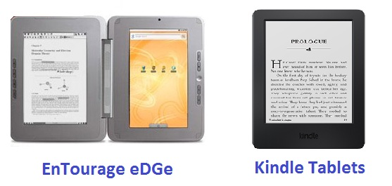 EnTourage eDGe And How Is It Different From Kindle Tablets