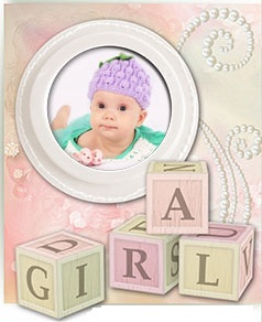 Wooden Blocks Book Baby Templates